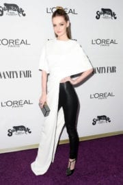 Lydia Hearst Stills at Vanity Fair and L'Oreal Paris Toast to Young Hollywood