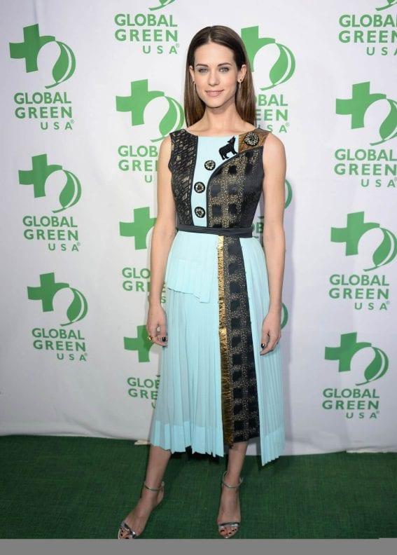 Lyndsy Fonseca Stills at 14th Annual Global Green Pre Oscar Party in Los Angeles