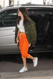 Madison Beer Stills Out and About in Milan