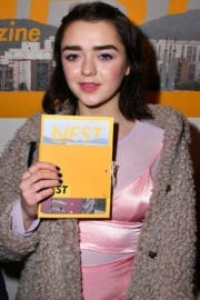 Maisie Williams at Nest Magazine Launch Party in London