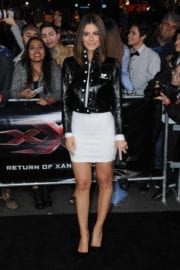 Maria Menounos at the XXX: Return of Xander Cage Premiere at the TCL Chinese Theatre in Los Angeles