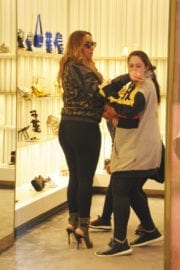 Mariah Carey Stills Shoping for Shoes in Los Angeles