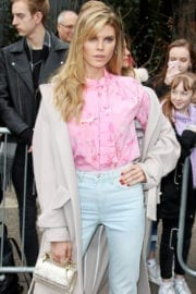 Maryna Linchuk Stills at Topshop Unique Show in London