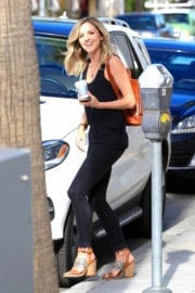 Maude Hirst Out for Coffee in Beverly Hills