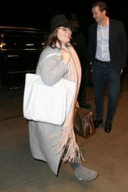 Melissa McCarthy at LAX Airport in Los Angeles