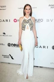 Michelle Dockery Stills at 25th Annual Elton John Aids Foundation's Oscar Party in Hollywood