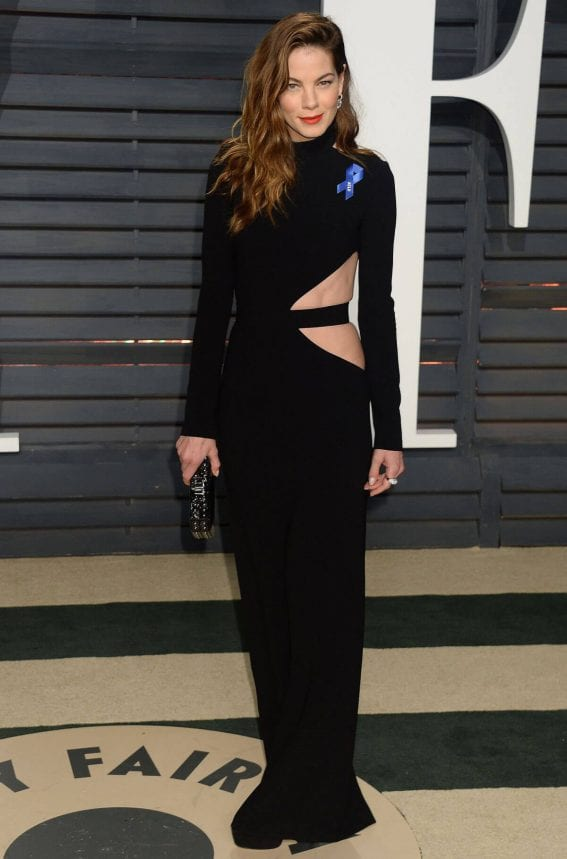 Michelle Monaghan Stills at 2017 Vanity Fair Oscar Party in Beverly Hills