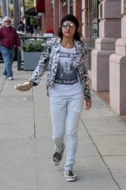 Michelle Rodriguez Out in Beverly Hills