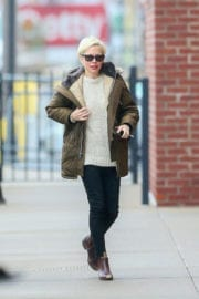 Michelle Williams Out and About in New York