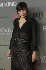 Milla Jovovich at Resident Evil: The Final Chapter Premiere in Berlin