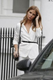Millie Mackintosh Stills on the Set of a Photoshoot in Chelsea