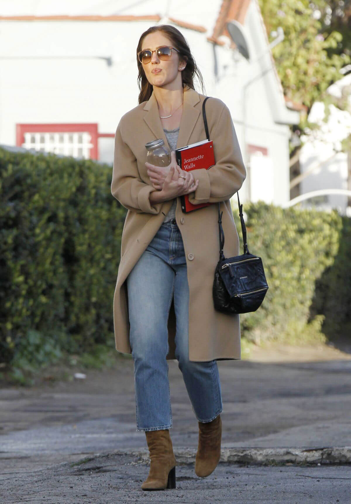 Minka Kelly Out and About in West Hollywood