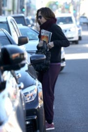 Minnie Driver Out and About in Los Angeles