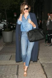Miranda Kerr Stills Out and About in New York Photos