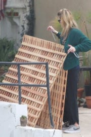 Mischa Barton at Her Home in Los Angeles