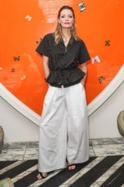 Mischa Barton at Tome Dinner Celebrating White Shirt Project and Freedom for All Foundation in Los Angeles