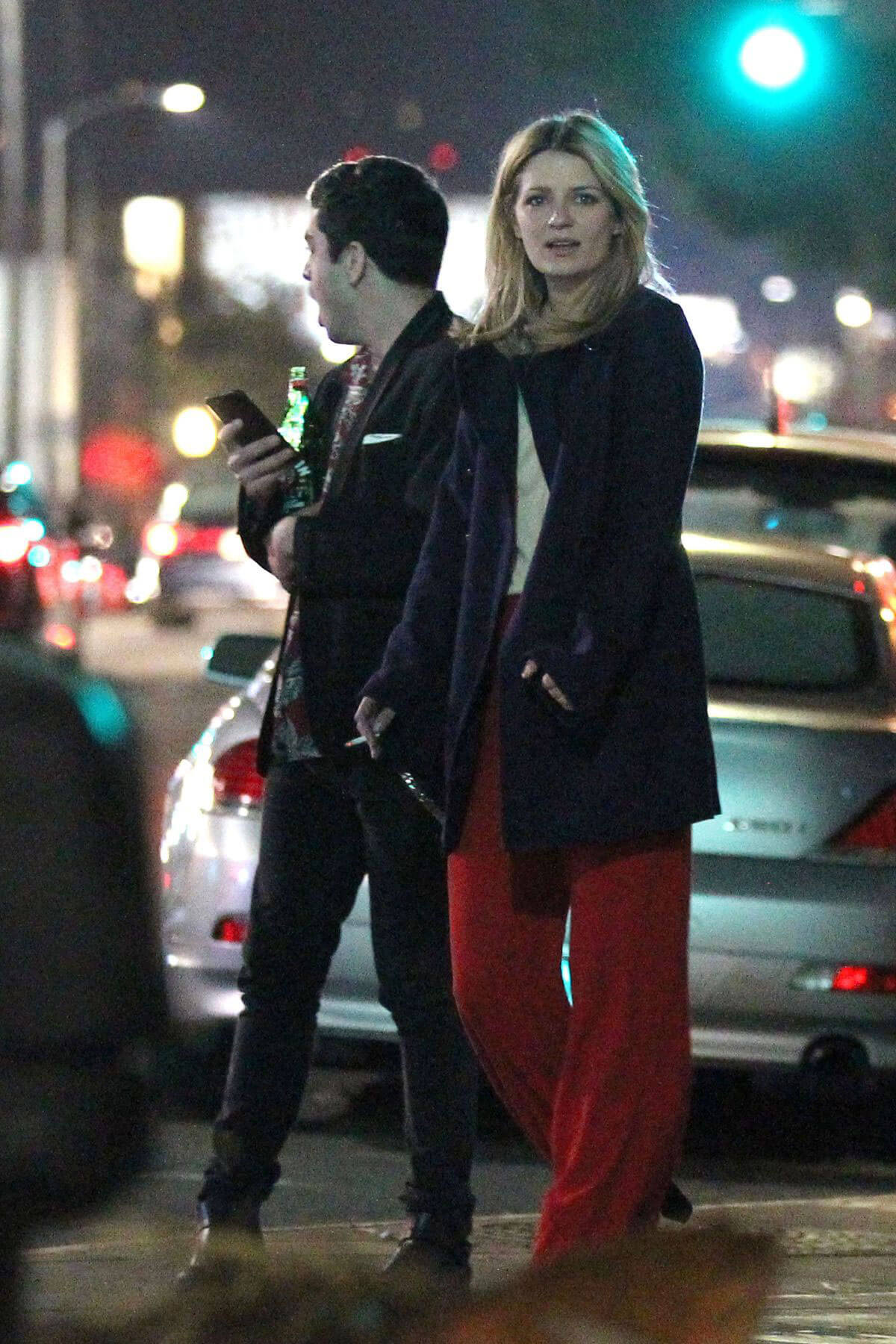 Mischa Barton Night Out in Los Angeles