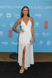 Monika Radulovic at Tropfest 25 Film Festival in Sydney