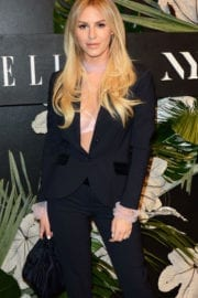 Morgan Stewart at ELLE, E! and Img New York Fashion Week Kick-off Party in New York