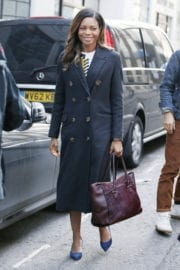 Naomie Harris Out and About in London