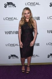 Natalie Alyn Lind Stills at Vanity Fair and L'Oreal Paris Toast to Young Hollywood
