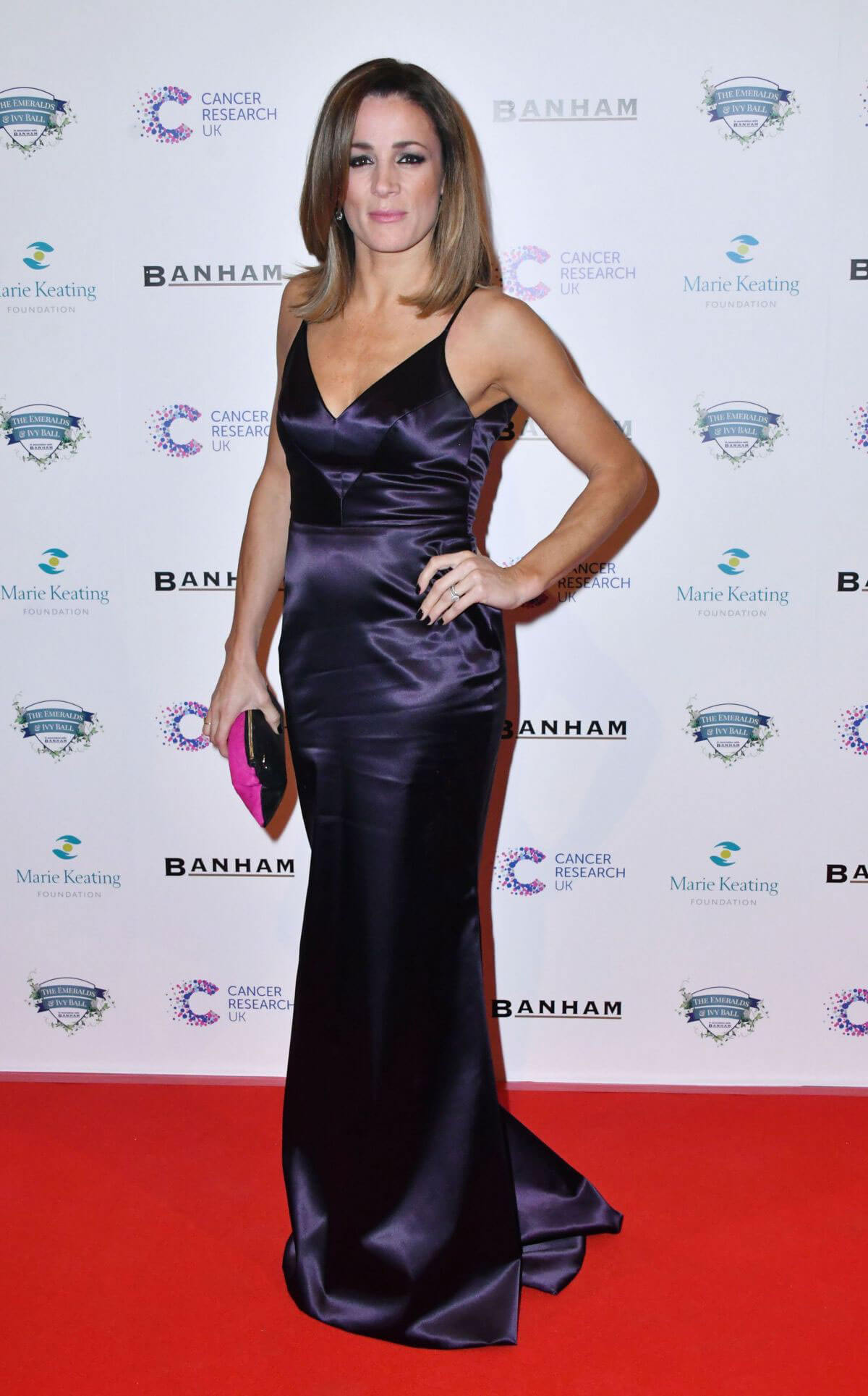 Natalie Pinkham Stills at Emeralds and Ivy Ball in London