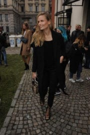 Natasha Poly Stills Out and About in Milan