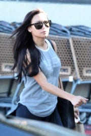 Naya Rivera Stills Out and About in Los Feliz