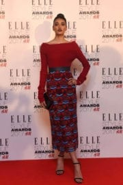Neelam Gill at Elle Style Awards 2017 in London