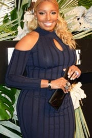 NeNe Leakes at ELLE, E! and Img New York Fashion Week Kick-off Party in New York