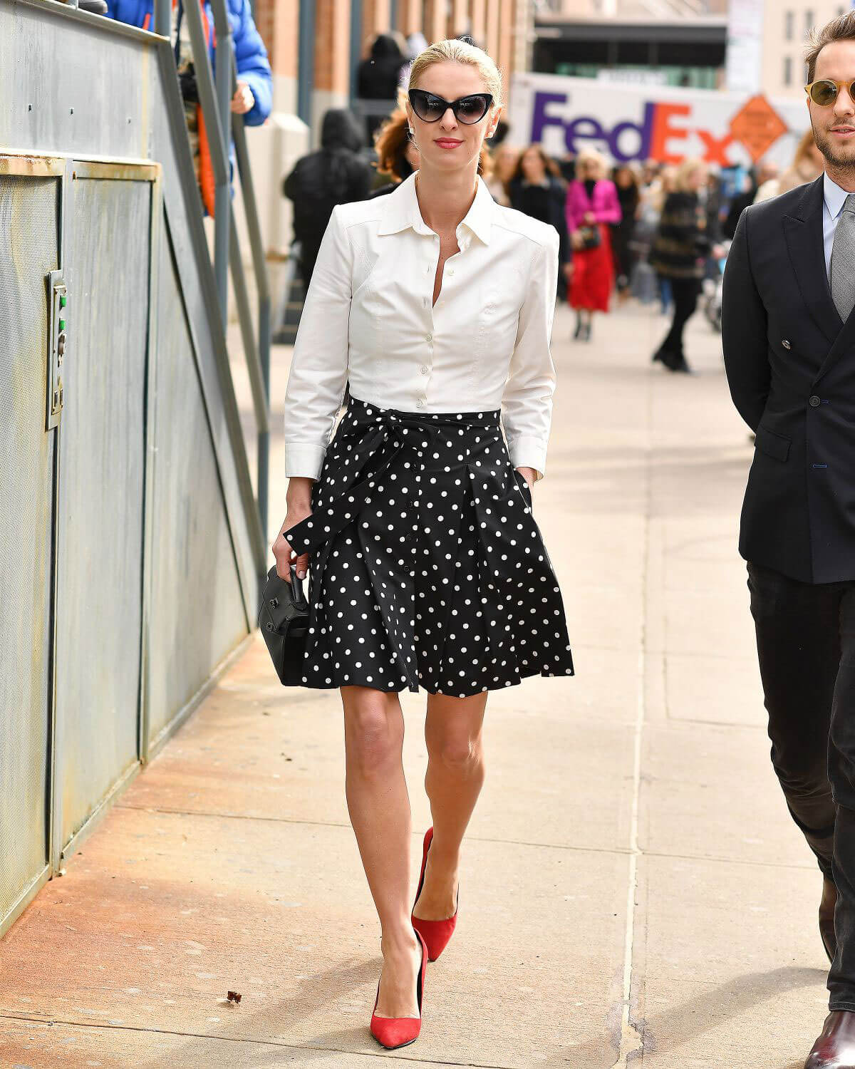 Nicky Hilton Out at New York Fashion Week