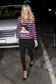 Nicky Hilton Out for Dinner in West Hollywood