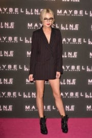 Nicola Hughes Stills Leaves Maybelline Party in London