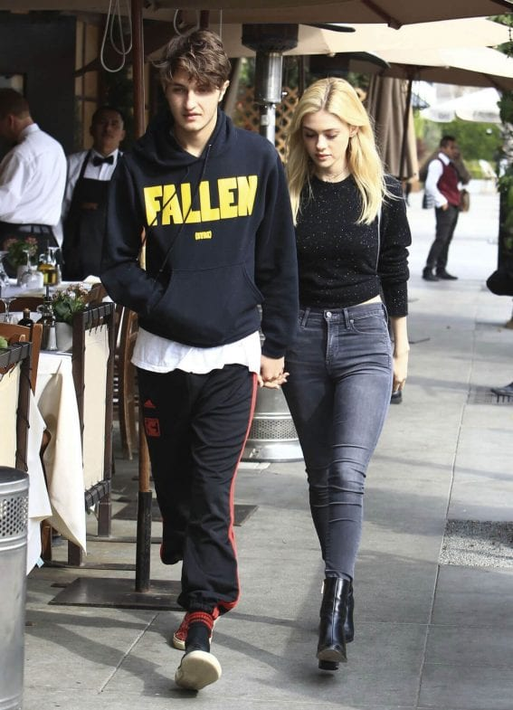 Nicola Peltz and Anwar Hadid Out in Beverly Hills