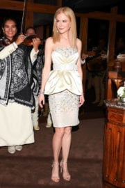 Nicole Kidman Stills at Charles Finch and Chanel Pre Oscar Awards Dinner in Beverly Hills