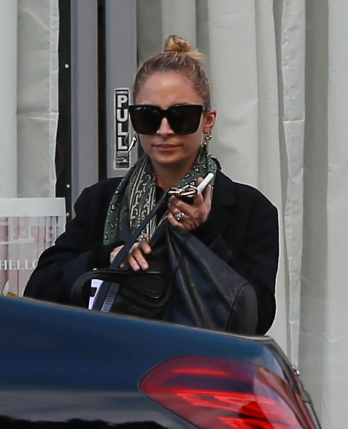 Nicole Richie Leaves a Spa in Los Angeles