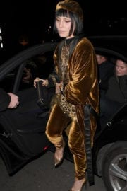 Noomi Rapace Stills at Burberry Fashion Show After Party in London