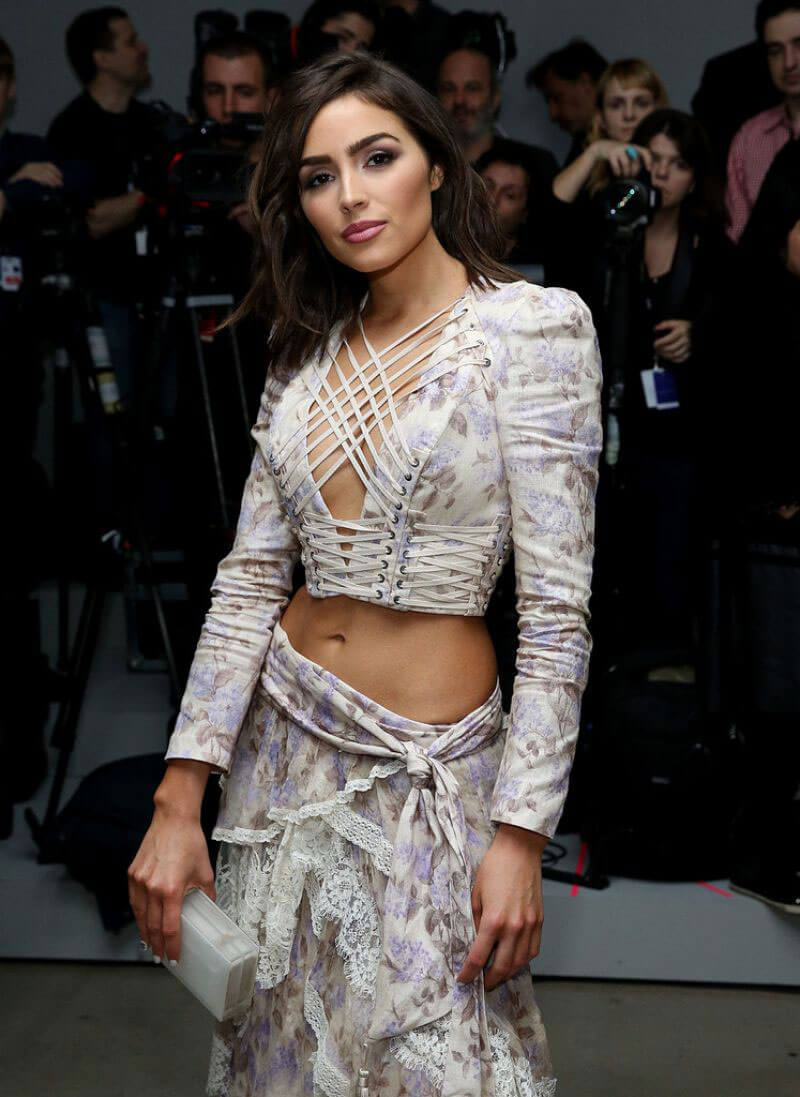 Olivia Culpo at Zimmermann Fashion Show at NYFW in New York
