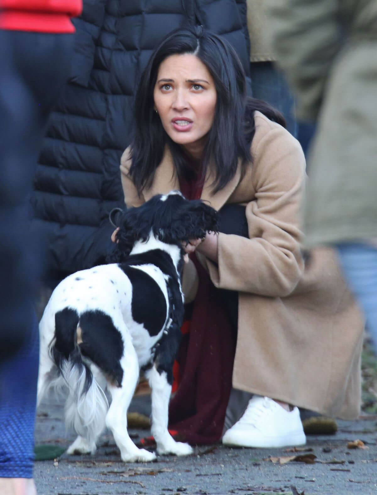 "Olivia Munn Stills on the Set of ""The Predator"" in Vancouver"