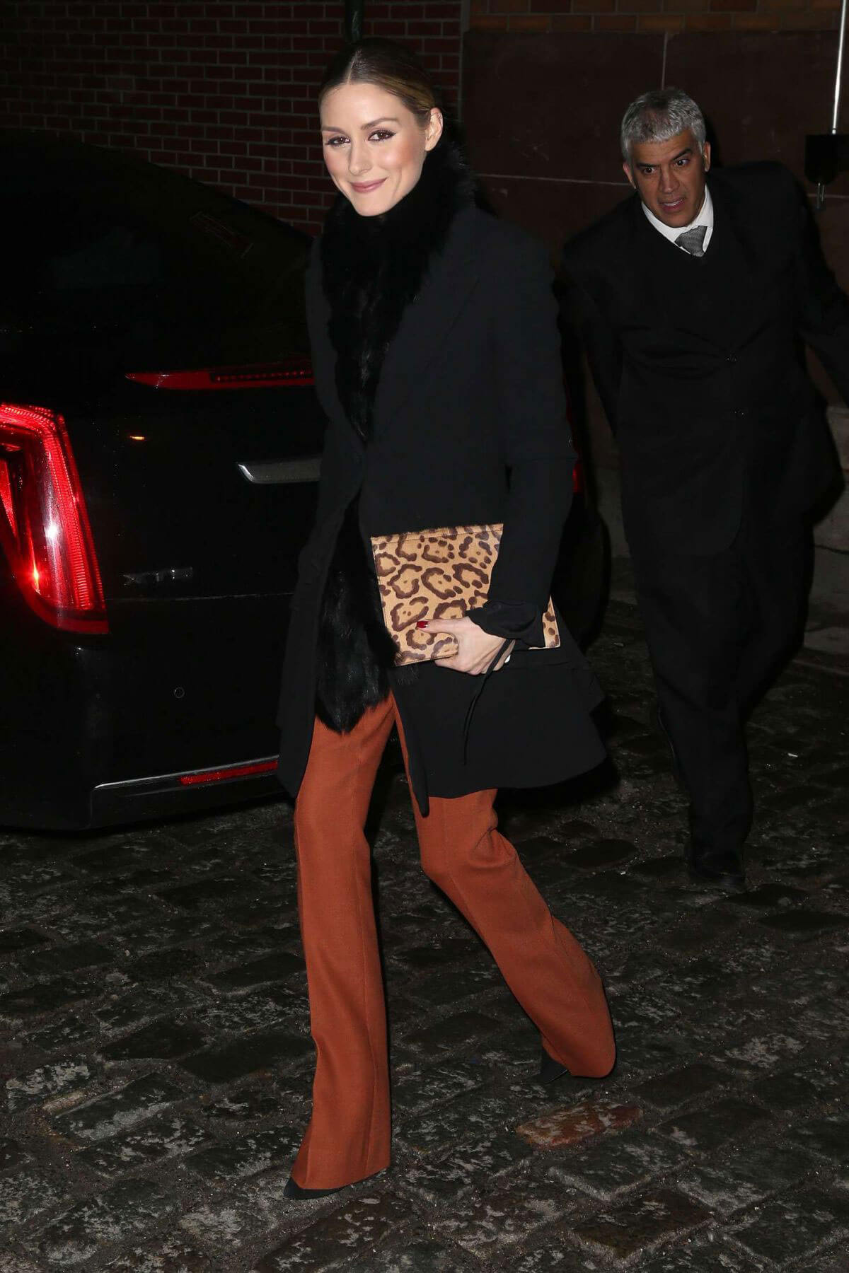 Olivia Palermo Night Out in New York