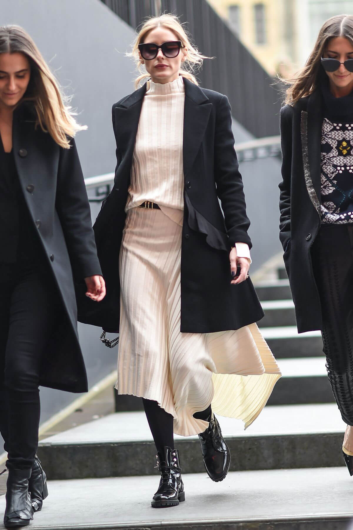 Olivia Palermo Stills Out and About in London