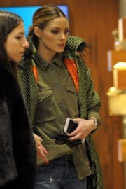 Olivia Palermo Stills Out Shopping in Milan