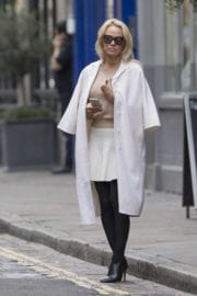 Pamela Anderson Stills Out and About in London