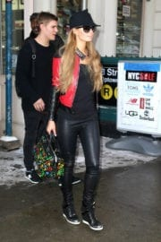 Paris Hilton Out and About in New York