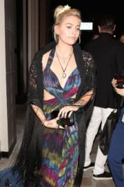 Paris Jackson Arrives at Republic Records Grammy After Party in West Hollywood