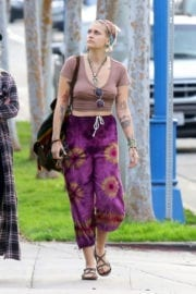 Paris Jackson Out and About in Hollywood