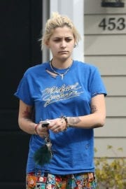 Paris Jackson Stills Without Makeup Out in Beverly Hills
