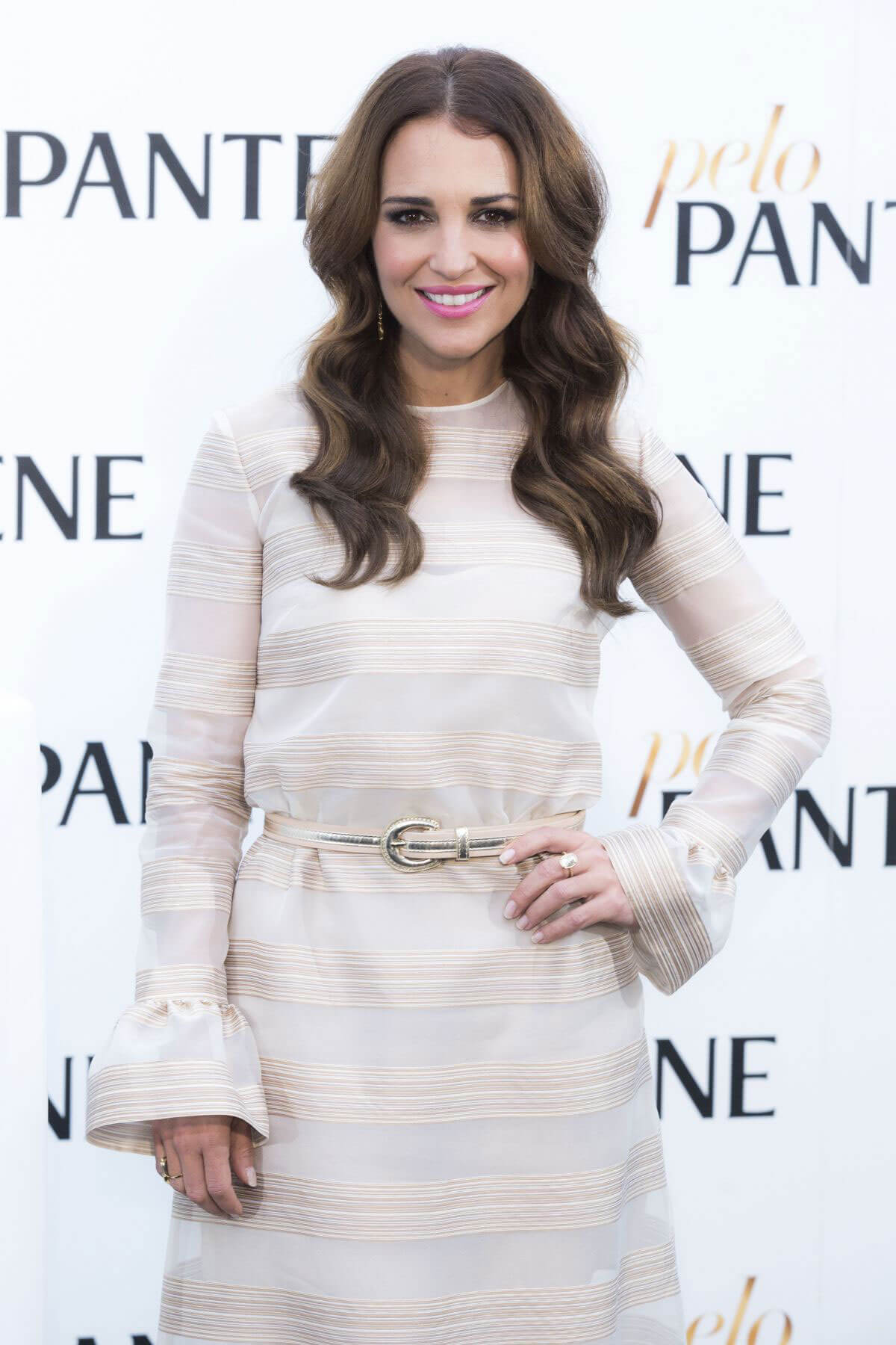 Paula Echevarría Stills at Pantene Photocall in Madrid