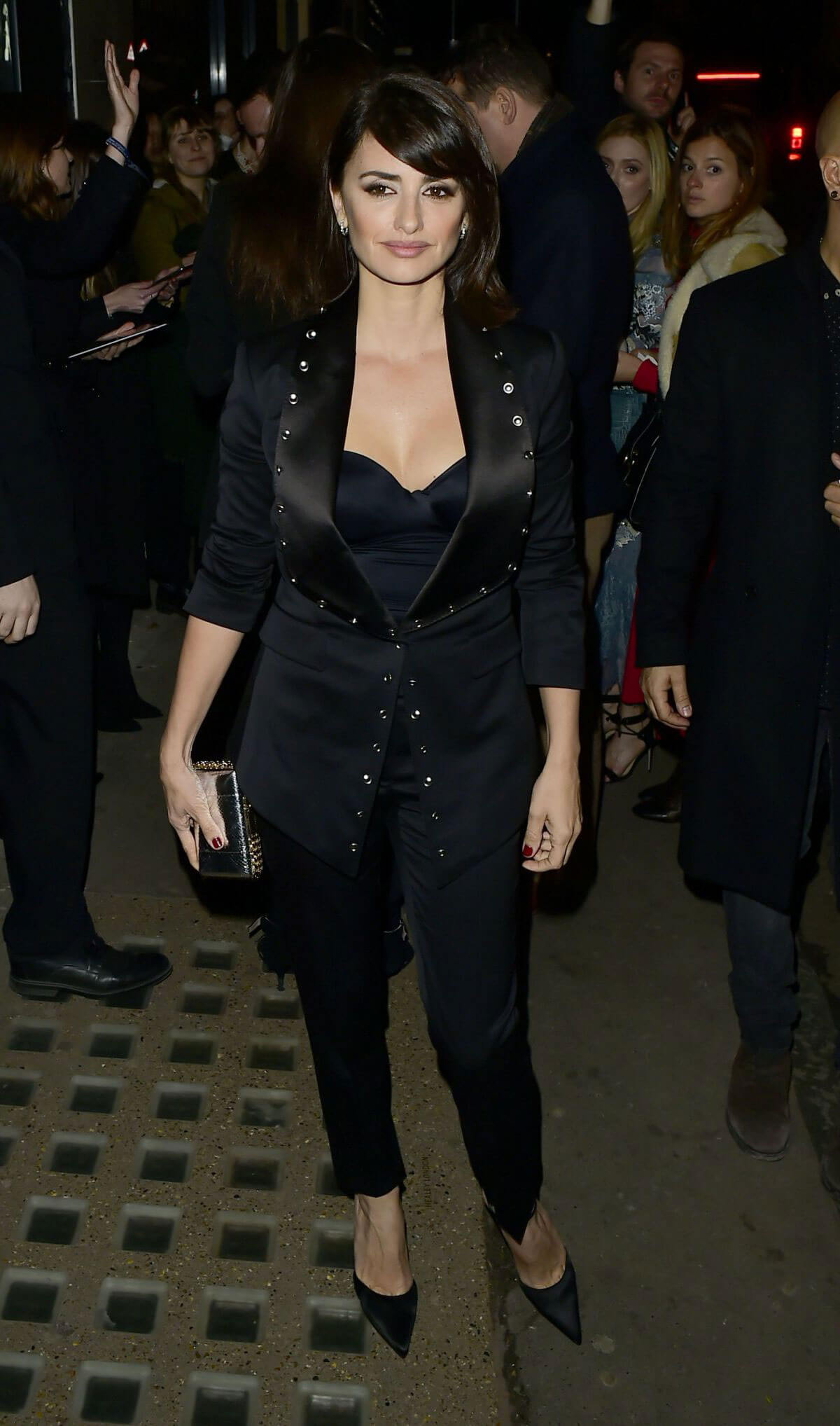 Penélope Cruz Stills at Burberry Fashion Show After Party in London