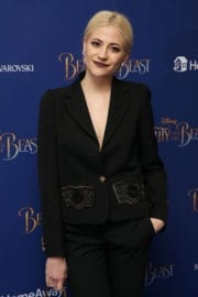 Pixie Lott Stills at Beauty and the Beast Premiere in London